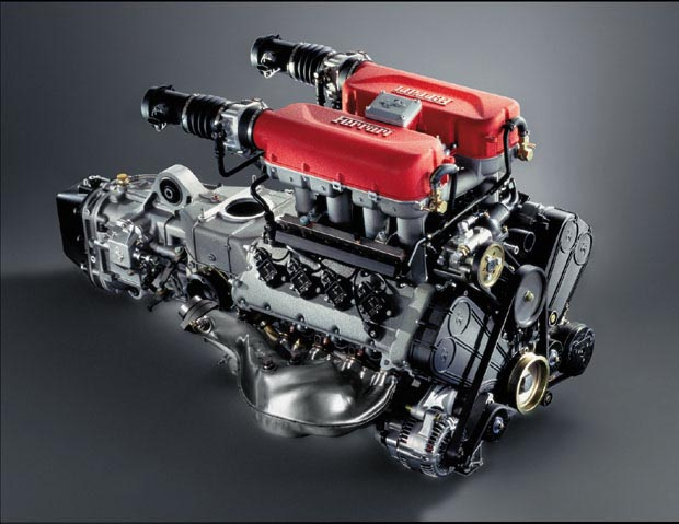 ferrari+engine